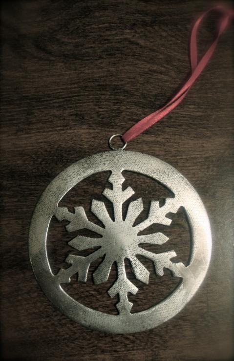 Silver Medal Snowflake