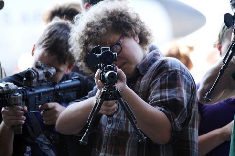 """Untitled"" Kids with Guns Photo credit: Gordon Tarpley via Flickr/Creative Commons  http://www.flickr.com/photos/gordontarpley/6320060769/"