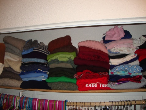 Yes, I do organize by color.