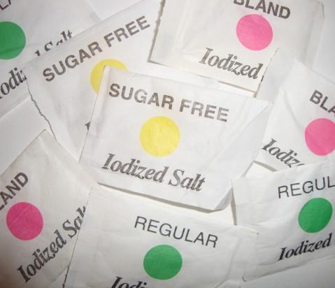 I love sugar free salt!