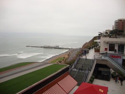 Pacific Ocean, Lima, Peru.
