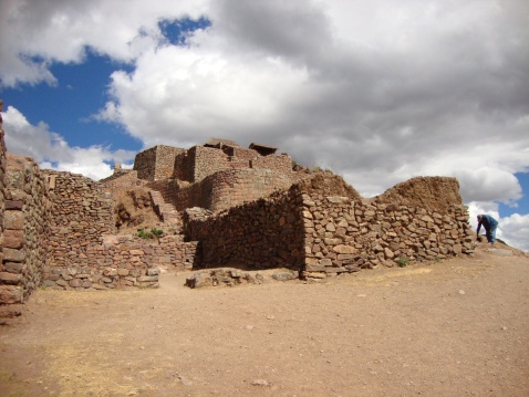 Las Ruinas de Pisaq. There was no one there.
