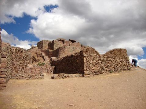 Las Ruinas de Pisaq. There was no one there.