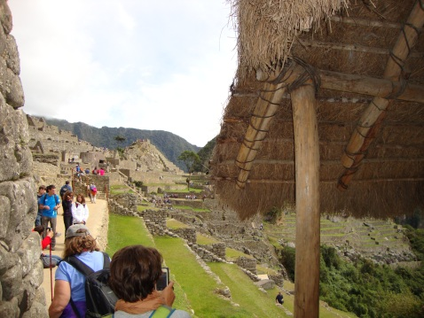 First View: Machu Picchu