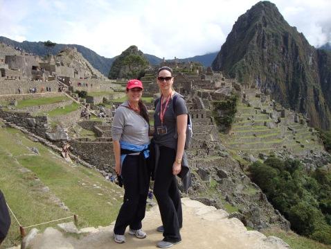 Sara and I at Machu Picchu
