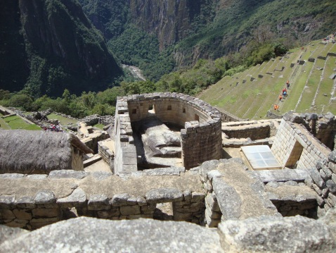 Temple of the Sun, Machu Picchu from Above
