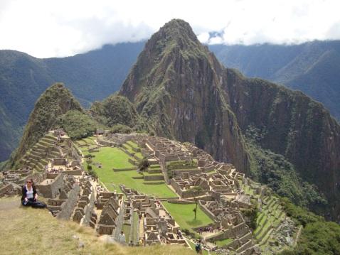 Postcard View, Machu Picchu