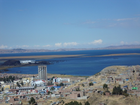 Lake Titicaca. It doesn't mean what you think it does.