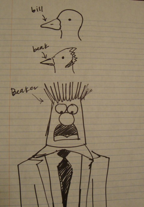 Bill, Beak, Beaker
