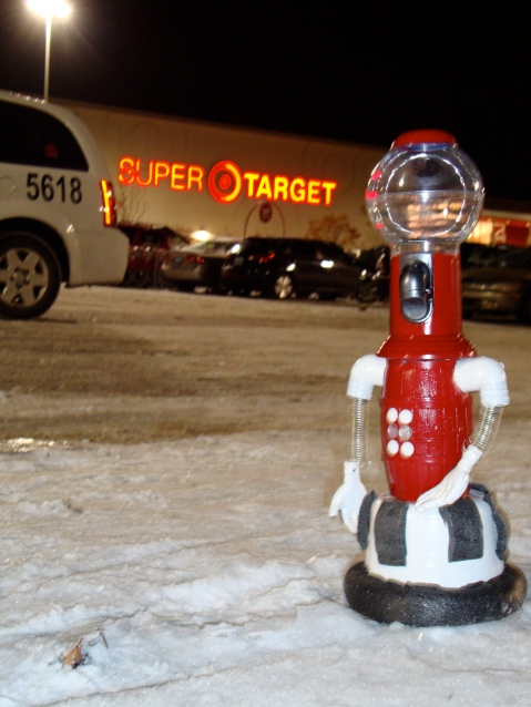 Tom Servo: Activist/Shopper