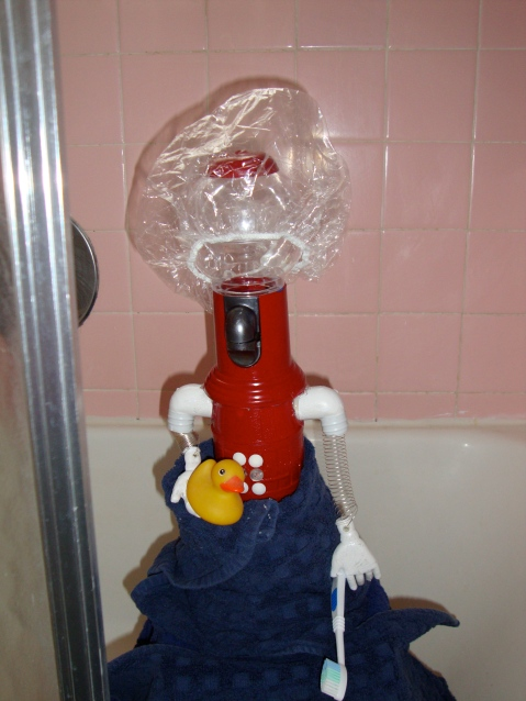 Tom Servo: Squeaky Clean