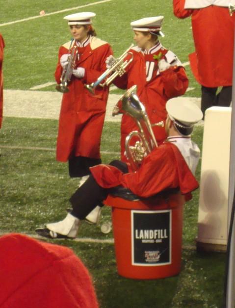 Fifth Quarter! This euphonium player made me laugh.