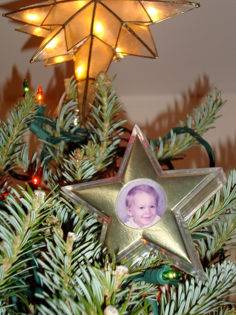 Dont worry, I put my siblings stars up, too. Just lower, and not in the front...