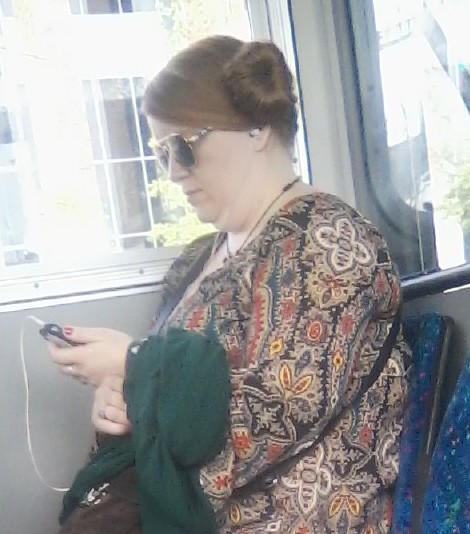 Princess Leia is very busy. So is her shirt.
