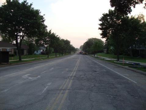 My street, no streetlights.