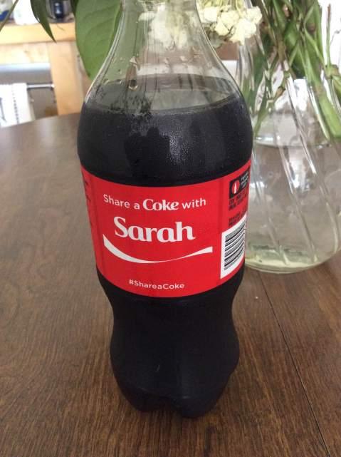 Shara a Coke?