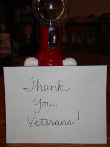 Tom Servo: Grateful